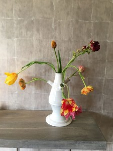 Wekelijks verse bloemen op kantoor
