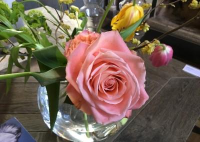 bloemen voor thuis…